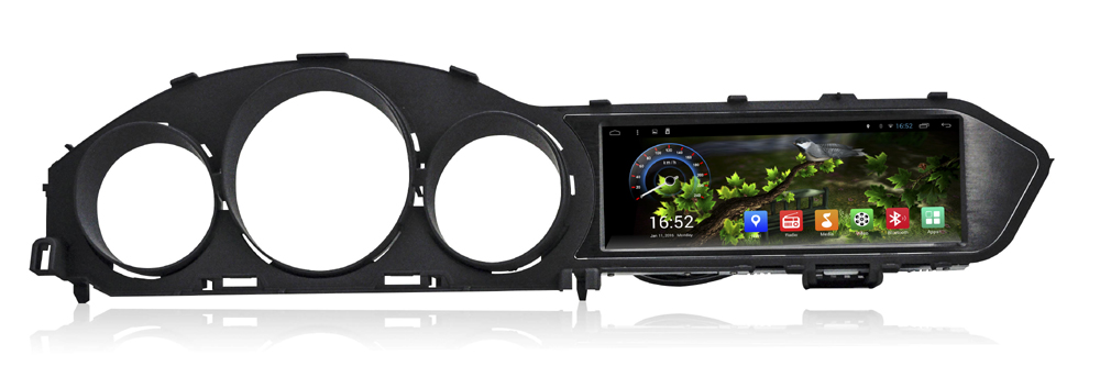 8.8 inch Android 4.4 Car DVD GPS Navigation System Radio Player Stereo Media for Mercedes Benz C Class W204 2010 2011 2012 2013