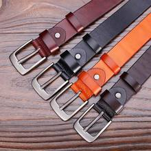 Catelles Women's Genuine Leather Belt 100% Top Layer Leather Fashion for Women Jeans Leather Strap