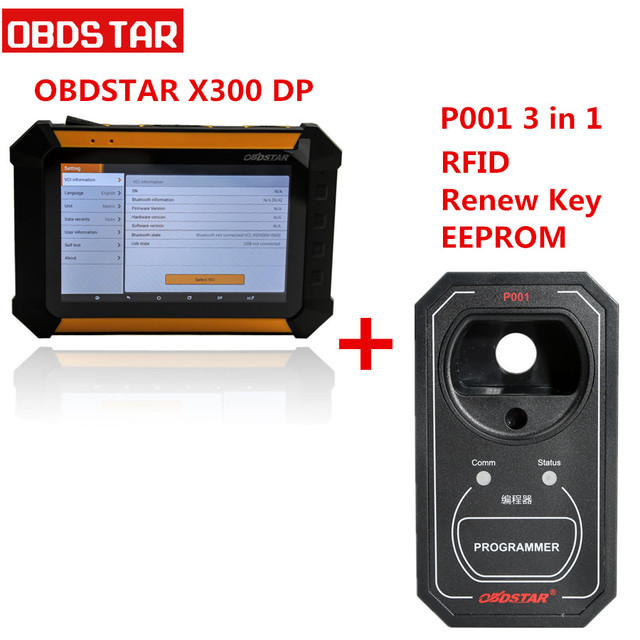 US $662 0 |OBDSTAR X300 DP PAD X 300DP Tablet Key Programmer Support for  Toyota G & H Chip All Keys Lost andfor BMW FEM/BDC Key Programming-in Auto