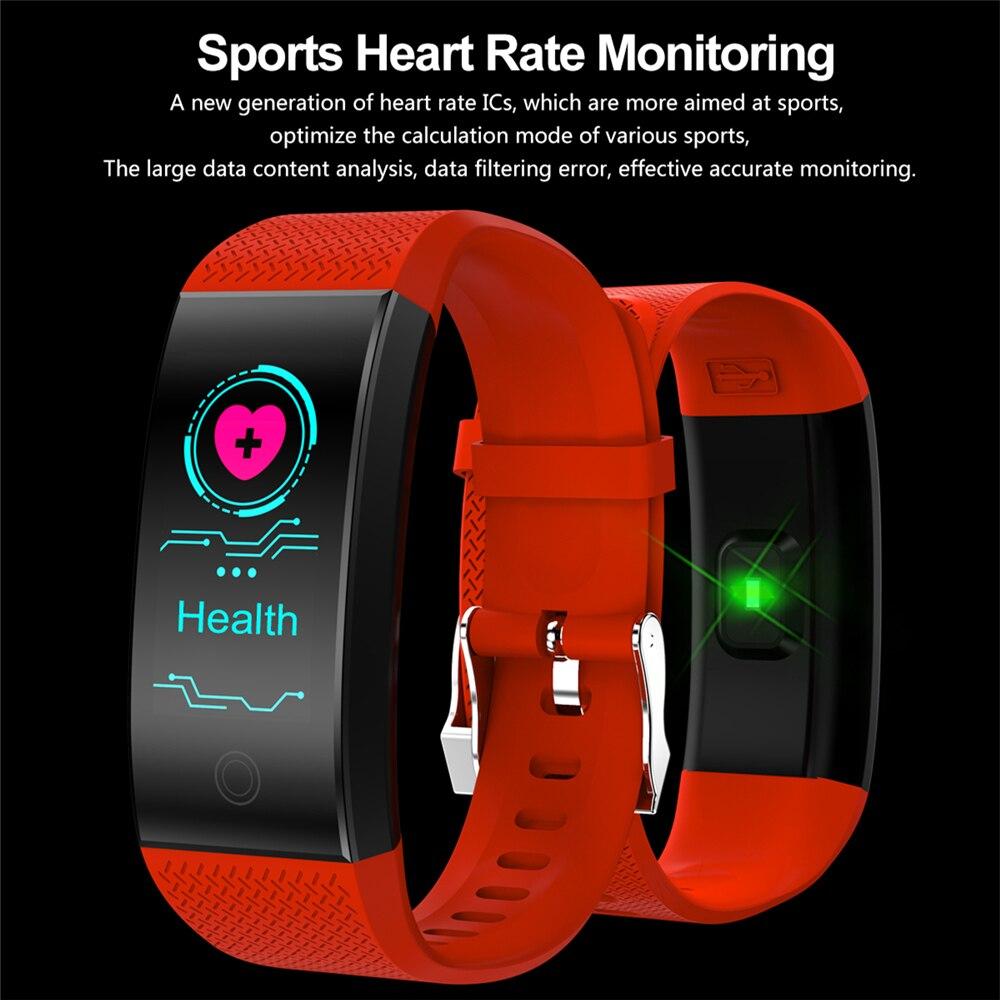 Смарт-браслеты Спорт умный Браслет Фитнес трекер сна IP68 импульса часы Открытый Smartband группа здоровья Relogio Cardiaco