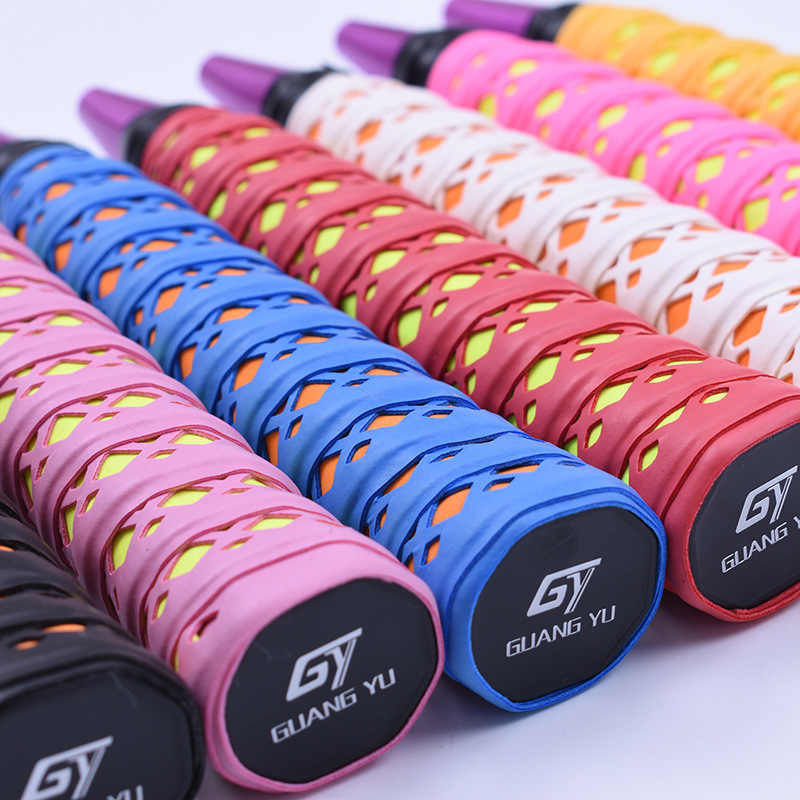 High Quality Badminton Rackets OverGrips Tennis Racquet Wraps Fishing Overgrip Anti-slip Keel Grips Hand Glue Elasticity 752OLE