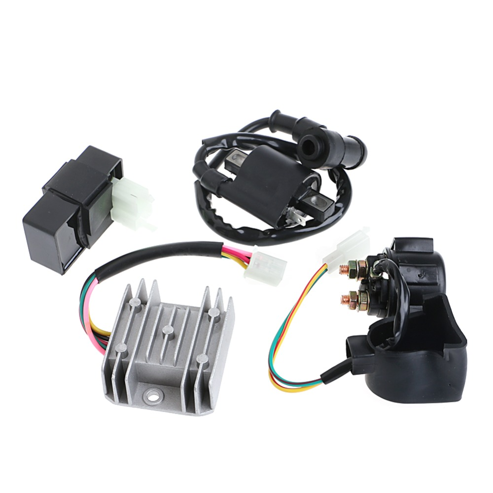 Regulator Rectifier Relay Ignition Coil CDI for Chinese ATV Quad 150 200 250 cc