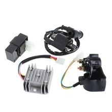 Regulador Rectificador Relé Bobina De Encendido CDI para ATV Chino Quad 150 200 250 cc