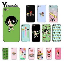 Yinuoda The Powerpuff Girls TPU Soft Silicone Phone Case Cover for iPhone 8 7 6 6S 6Plus X XS MAX 5 5S SE XR Fundas Capa