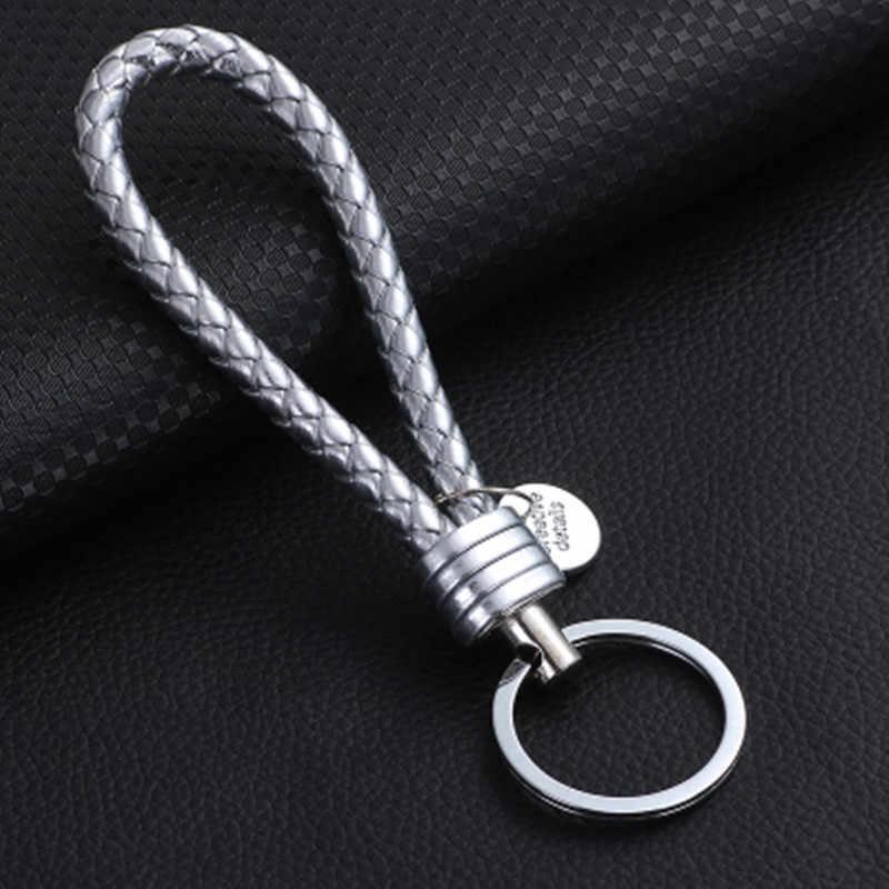 Handmade Knit Rope Xe Keychain Keychain của Nam Giới Eo Pendant Keychain phụ nữ Sáng Tạo Quà Tặng Cao Cấp