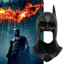Batman The Dark Knight Costume Mask Movie Halloween Party Cosplay Adult Latex Prop