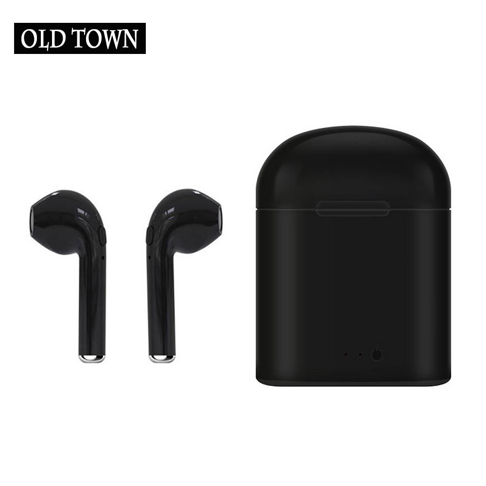 For Apple Earpods TWS I7s In-Ear Headphone Wireless Earphones Bluetooth Headset Earbud for IPhone Samsung Xiaomi Huawei Phones