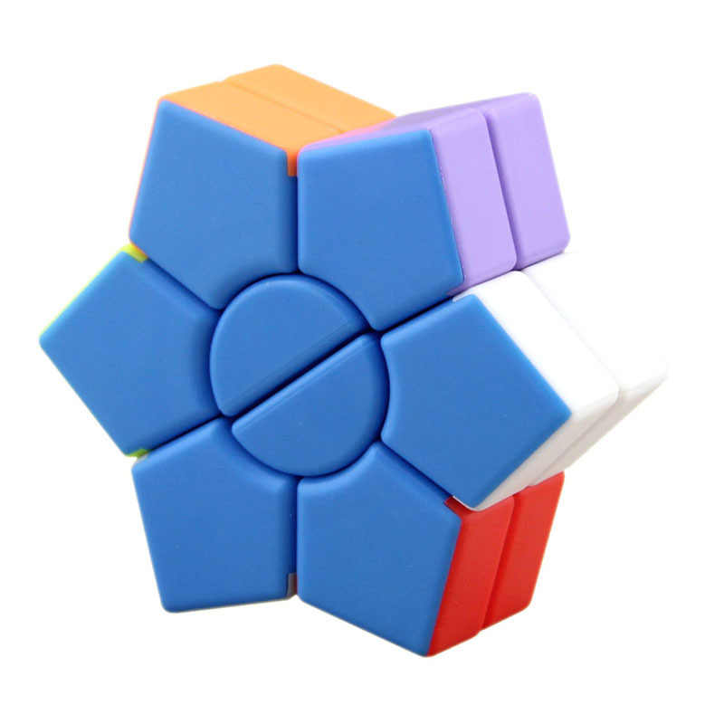 Six Pointed Star Magic Cube Ultra-Smooth Professional Speed Cube Puzzle Twist Toy