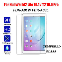 Tempered Glass For Huawei M2 Lite 10.1 Inch FDR-A01W FDR-A03L Tablet Screen Protector MediaPad T2 Pro 10 Guard