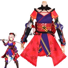 Fgo Fate Grand Order Miyamoto Musashi Shinmen Harunobu Tops Jurk Uniform Outfit Anime Cosplay Kostuums(China)