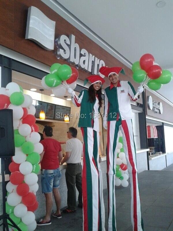 Stilts Clothing / Apparel / Clown Long Legged Clown Costume