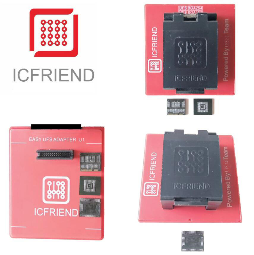 2019 ICFriend 3 in 1 UFS Chip Reader For  Easy JTAG Plus Box-in Telecom Parts from Cellphones & Telecommunications    1