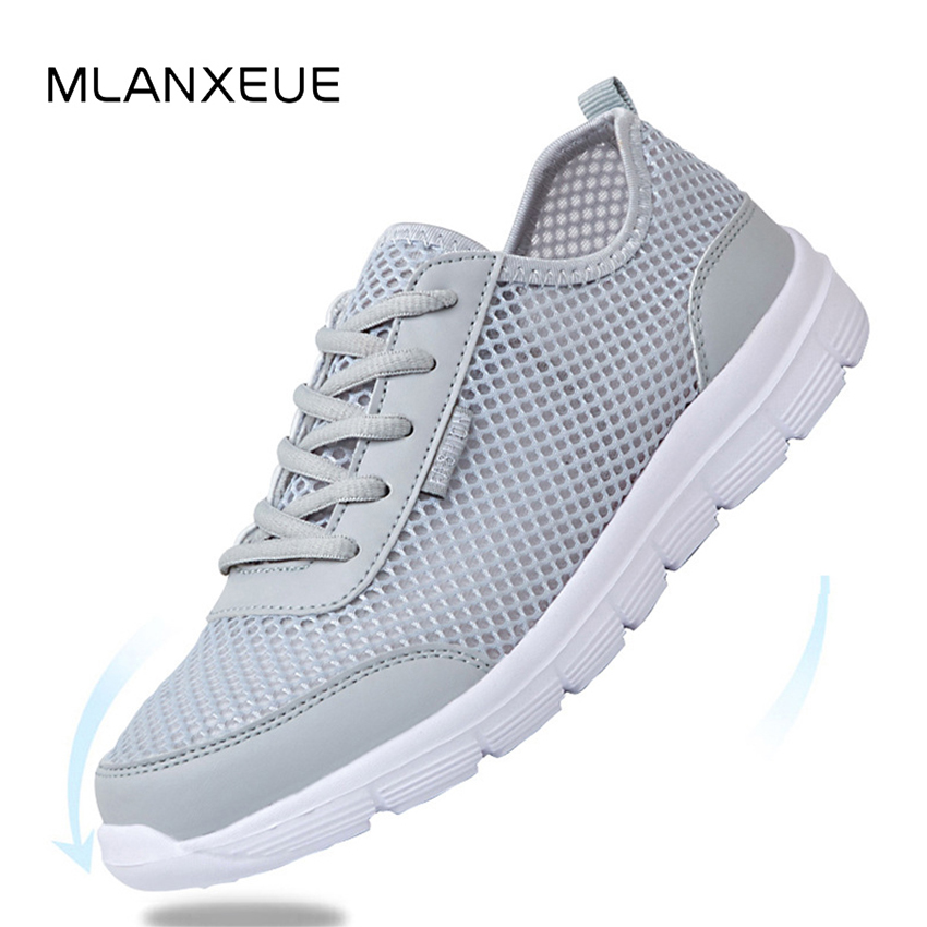 Breathable Mesh Men Sneakers Slip On Light Lovers Shoes Autumn High Quality Man Sneakers Shoes Men Lace Up Students Shoes 2018 рубашка s oliver