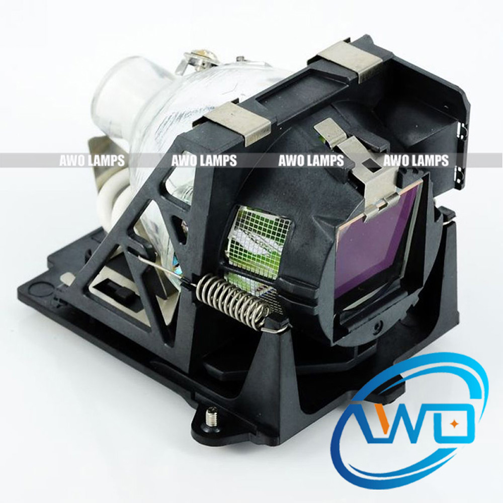 AWO Replacement Projector Lamp 400-0003-00 with Housing for ProjectionDesign  F3 SX+ (250w) F3 SXGA + (250w) F3 XGA (250w) high quality projector bare lamp bulb 400 0300 00 for projection design cineo 3 f3 action 3 1080 f3 sx 250w etc