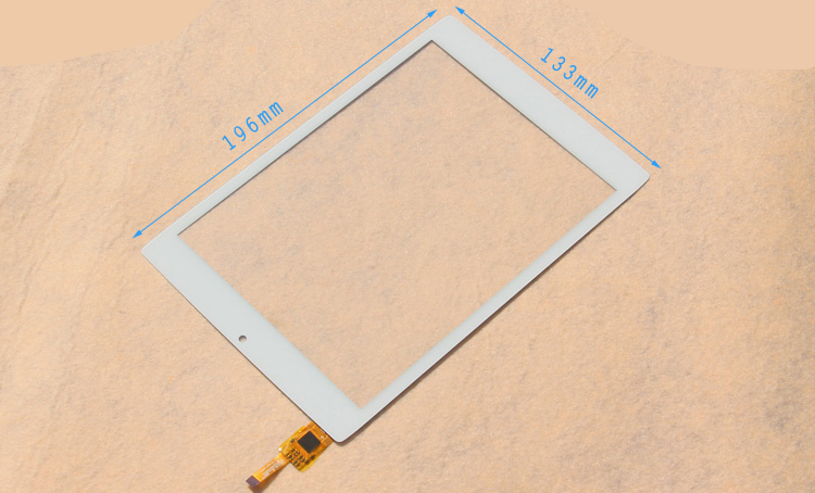 Wholesale white 7.85 inch touch screen New CHUWI V88 MINI Tablet pc pad  panel digitizer HY 51042 screens panels free shipping wholesale new 4 3 inch touch screen panels for lms430hf18 lms430hf19 gps touch screen digitizer panel replacement free shipping