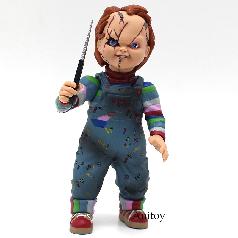 Image 2 - Child's Play Bride of Chucky  1/10 Scale Horror Doll Chucky PVC Action Figure Toy 12cm-in Action & Toy Figures from Toys & Hobbies