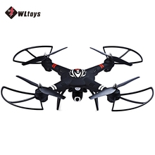 WLtoys RC Quadcopter 2.4GHz 4CH 6 Axis Gyro Drones RTF Aircraft 2.0MP Camera Fly Drone Dron Support WiFi Real-time Transmission