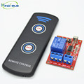 XIND ELE 1 way IR Remote Control Learning Switch 5V DC + 2-key Long Range Remote For Home Auto Light Garage Door #IR05-1LM+LPM2#