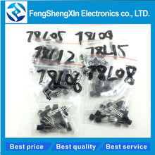 120pcs/lot New 78L05 78L06 78L08 78L09 78L12 78L15 TO-92 20pcs*6values  Voltage regulator tube  Transistor package