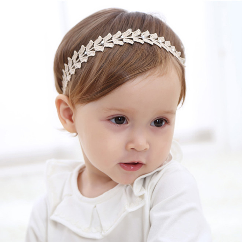 Baby Girl Elastic Flower Headband Children Baby Kids Hair Bands   Headwear   Bowknot Rhinestone Pearl Flower Hair Accessories