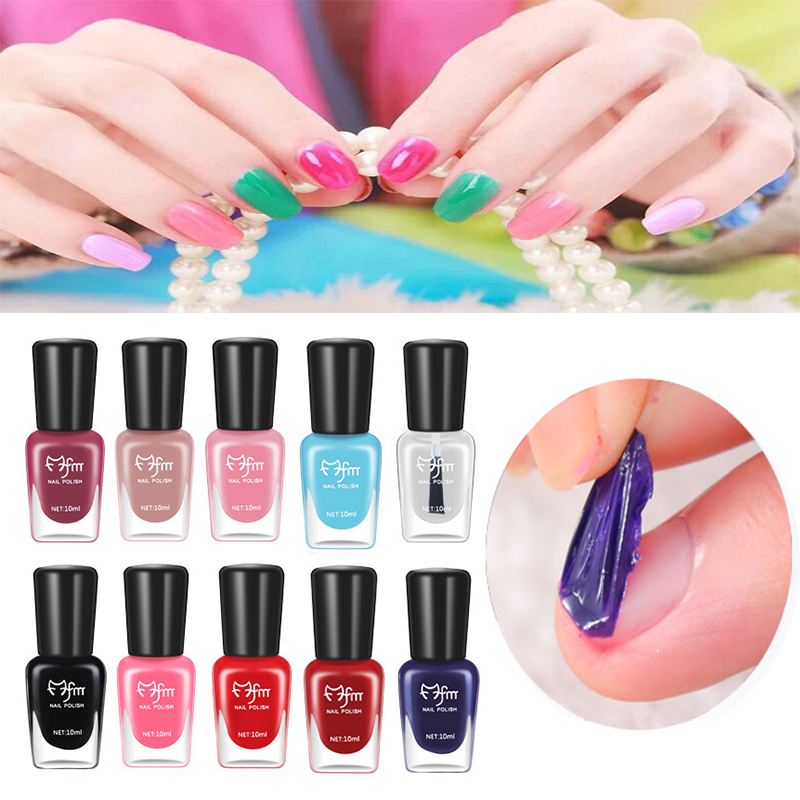 nail color for executive women 8 colors peel off nail art ...