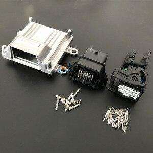 1 Набор 32 pin ECU алюминиевый корпус коробка с 32-контактным корпусом мотор автомобиль LPG CNG преобразования мужской женский авто разъем
