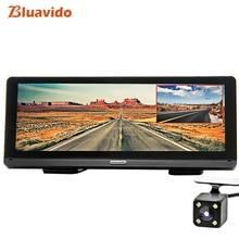 Bluavido 8 «ips Видеорегистраторы для автомобилей gps 4G Android навигации ADAS Full HD 1080p тире Камера Двойной объектив автомобиля видео Регистраторы Remote Live монитор