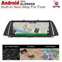 "hd מסך 10.25"" סטריאו מסך HD 7.0 אנדרואיד עד לרכב GPS Navi מפה BMW 5 F10 F11 2009 ~ 2012 CIC מקורי סגנון מולטימדיה נגן רדיו (3)"