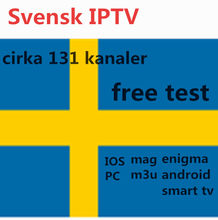 AV Cable+ Swede IPTV 4700 channels Subscription World IPTV for XXX optional Algeria Tunisia Christian SeeVii smart TV m3u file(China)