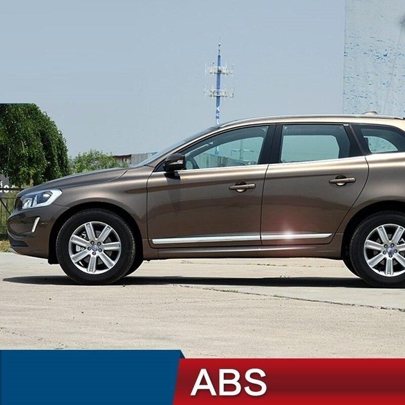 Автомобильные аксессуары хрома 14 17 отделкой яркими блестками Наружные молдинги partsdoor Декоративные окно для Volvo XC60