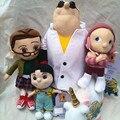 Гадкий я плюшевые игрушки куклы семьи Гру маленькая девочка Доктор единорог 16 ~ 38 см