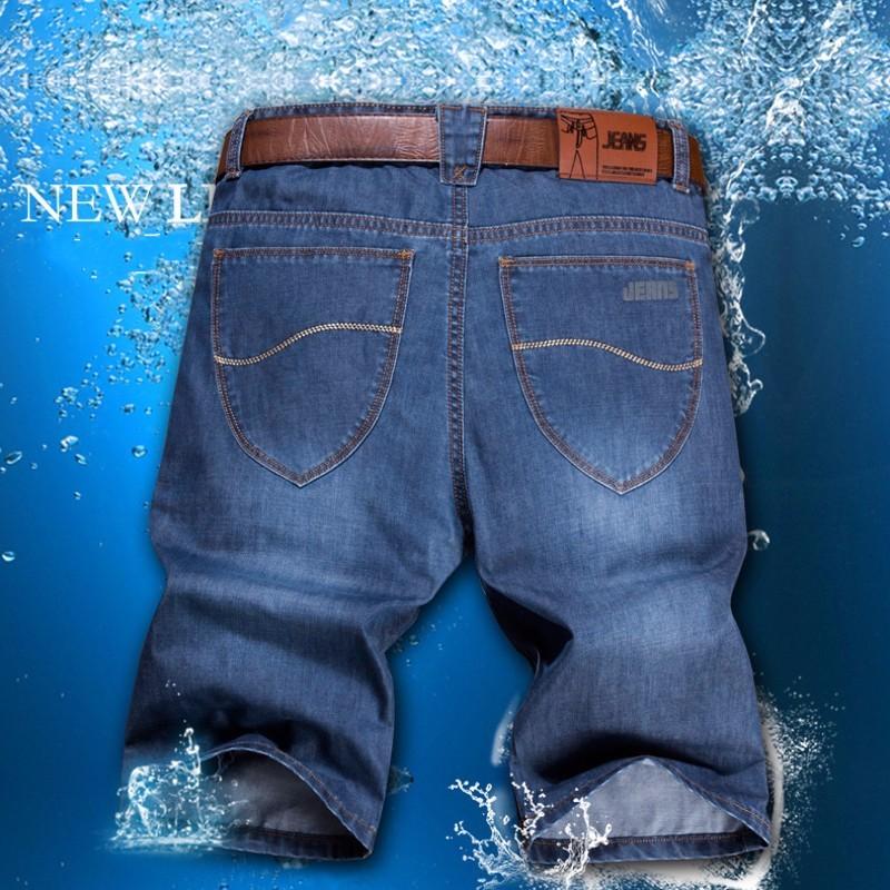 2016 new fashion short men jeans