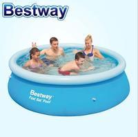 Bestway57265 duży nadmuchiwany basen Rodziny Dziecko Dorosłych basen podniesienie gruby 244*66 cm