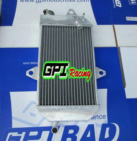 For ATV YAMAHA banshee 350 YFZ350 YFZ 350 oversized Aluminum Radiator /& Hose Kit