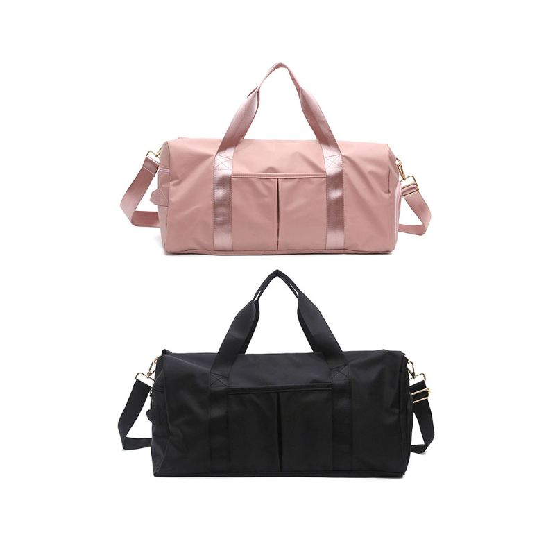 Travel Sports Fitness Yoga Bag Dry Wet Handbag Shoulder Bags With Pocket And Shoes Compartment For Women Men