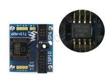 T13 + ADP # ATtiny12 ATtiny13 ATtiny15 ATtiny25 SOIC8 (150 мил) AVR Программирование Адаптер Тестовые Гнезда