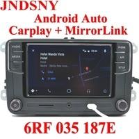 JNDSNY Android Auto CarPlay APP R340G RCD330 RCD330G Plus Car Radio For Golf 5 6 Jetta