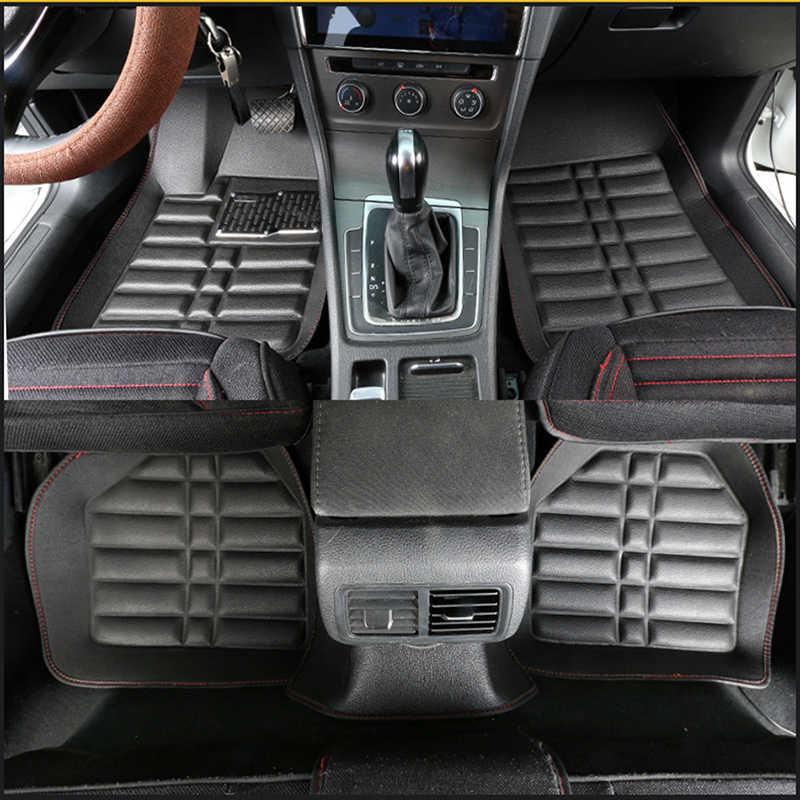 אוניברסלי רכב רצפת מחצלות לאינפיניטי fx q50 g35 fx37 QX56 qx70 Q70L Q50 Q60 QX80 QX50 QX60 רכב מחצלות אביזרי רכב