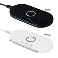 범용 제나라 Q100 무선 충전기 충전 플레이트 호흡 LED USB 충전기 패드 매트 휴대 전화 아이폰 P15