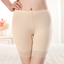 Women Soft Seamless Safety Short Pants Summer Under Skirt Shorts  Breathable Short Tights Invisible Safety Short Pants 2019 New