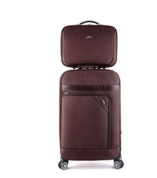 Oxford 24 pollice Spinner valigia Da Viaggio Trolley Valigia set Da Viaggio di Affari di Rotolamento sacchetto dei bagagli Ruote trolley borse