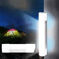 Высокое качество наружный тент свет USB Перезаряжаемый магнит Подвесная лампа ночник аварийное освещение для кемпинга пешего туризма