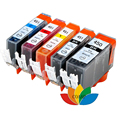 PGI 450 CLI 451 compatible ink cartridge 5color for canon PIXMA IP7240 MG5440 MG5540 MG6440 MG6640 MG5640 MX924 MX724 IX6840