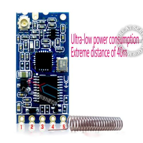 HC-11 433MHz wireless RF serial UART module CC1101 5V 3V AT command GPS