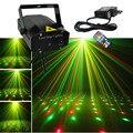 Novo Mini Preto Shell Portátil Remoto IR RG Meteor Projetor Laser luzes DJ KTV Início Xmas Party LED Iluminação Cénica Dsico OI100B