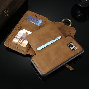 Image 5 - Floveme注3 4 5レトロ財布レザーケース三星銀河S6エッジプラスS7 iphone xs xr最大5s、se 6 6s 7 8プラスカバー