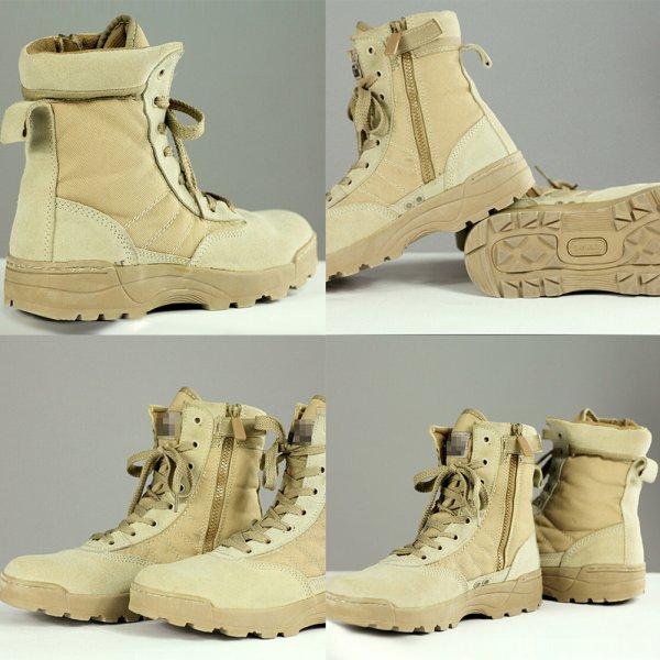 Зимние спортивные армейские мужские тактические ботинки для пустыни, для активного отдыха, походов, поклонники военного стиля, мужские военные ботинки черного цвета и цвета хаки