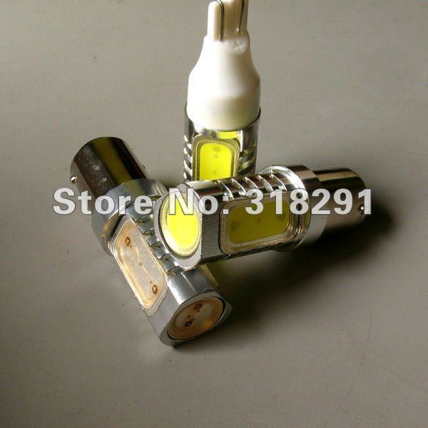 Free shipping High quality 1156/Ba15s T15 T20 1157 6W High power Led Car Reverse  brake lamp Light