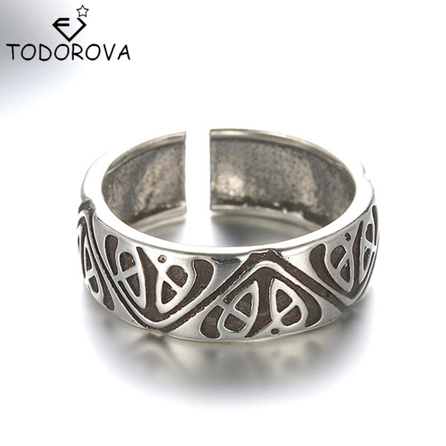 Todorova Personalized Vintage Wedding Band Toe Rings Real Pure 925 Sterling Silv