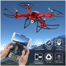 LIDIRC L5 6 Axis Gyro Wifi Real time Transmission Drone with HD Camera 3D Flips High